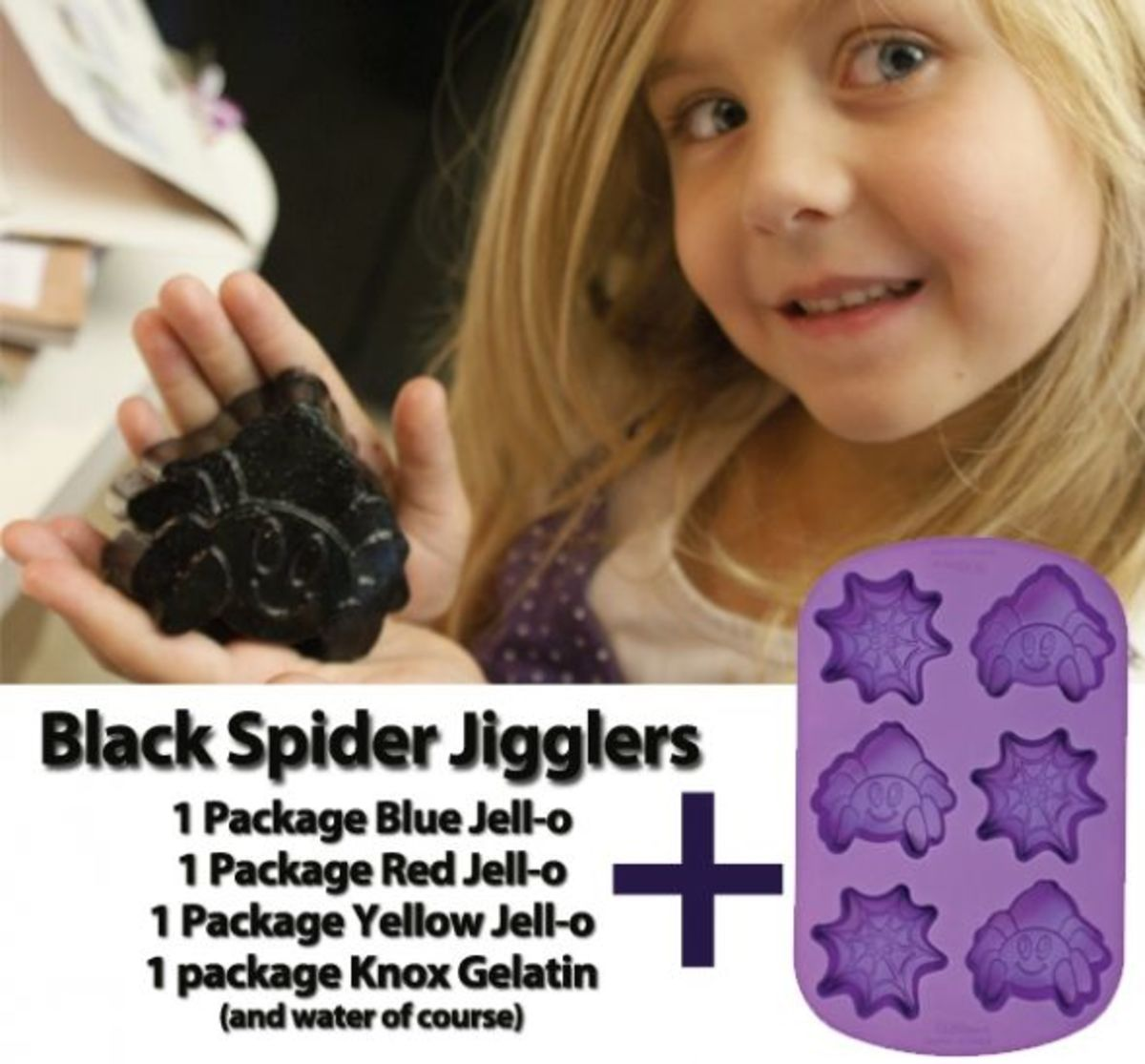 Click to purchase spider and spiderweb silicone molds from Amazon.com.