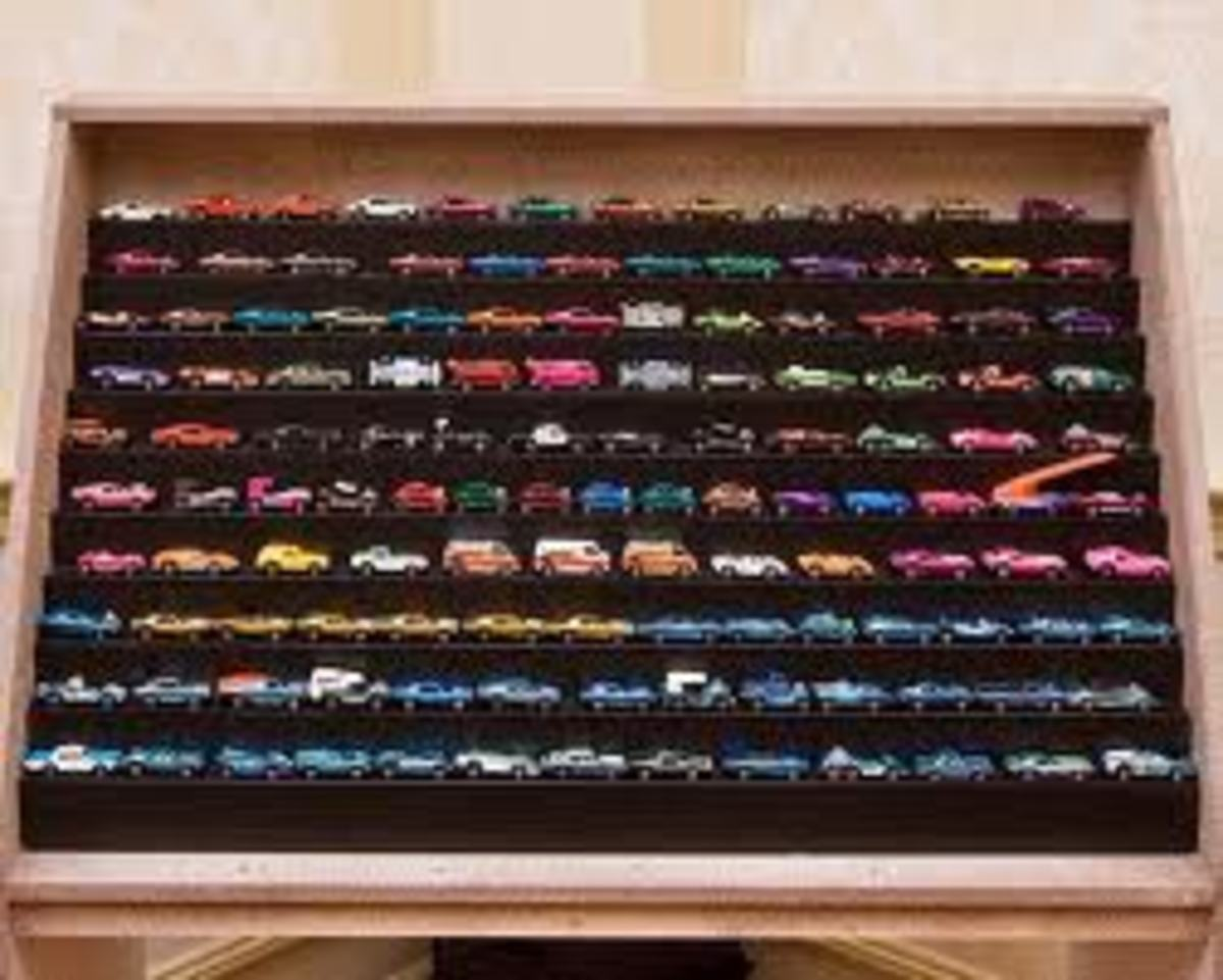 Sid Belzberg personal Hot Wheels collection