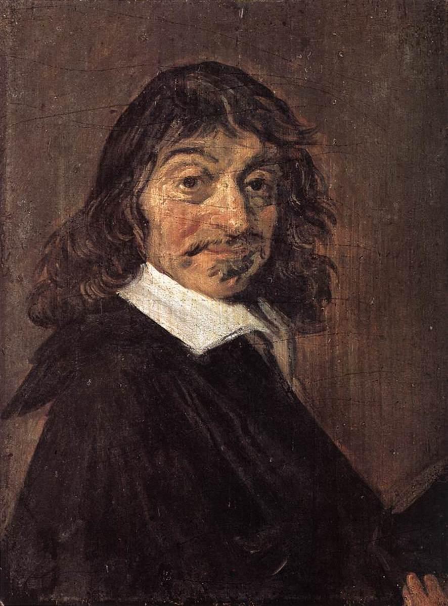 René Descartes looking intelligent.