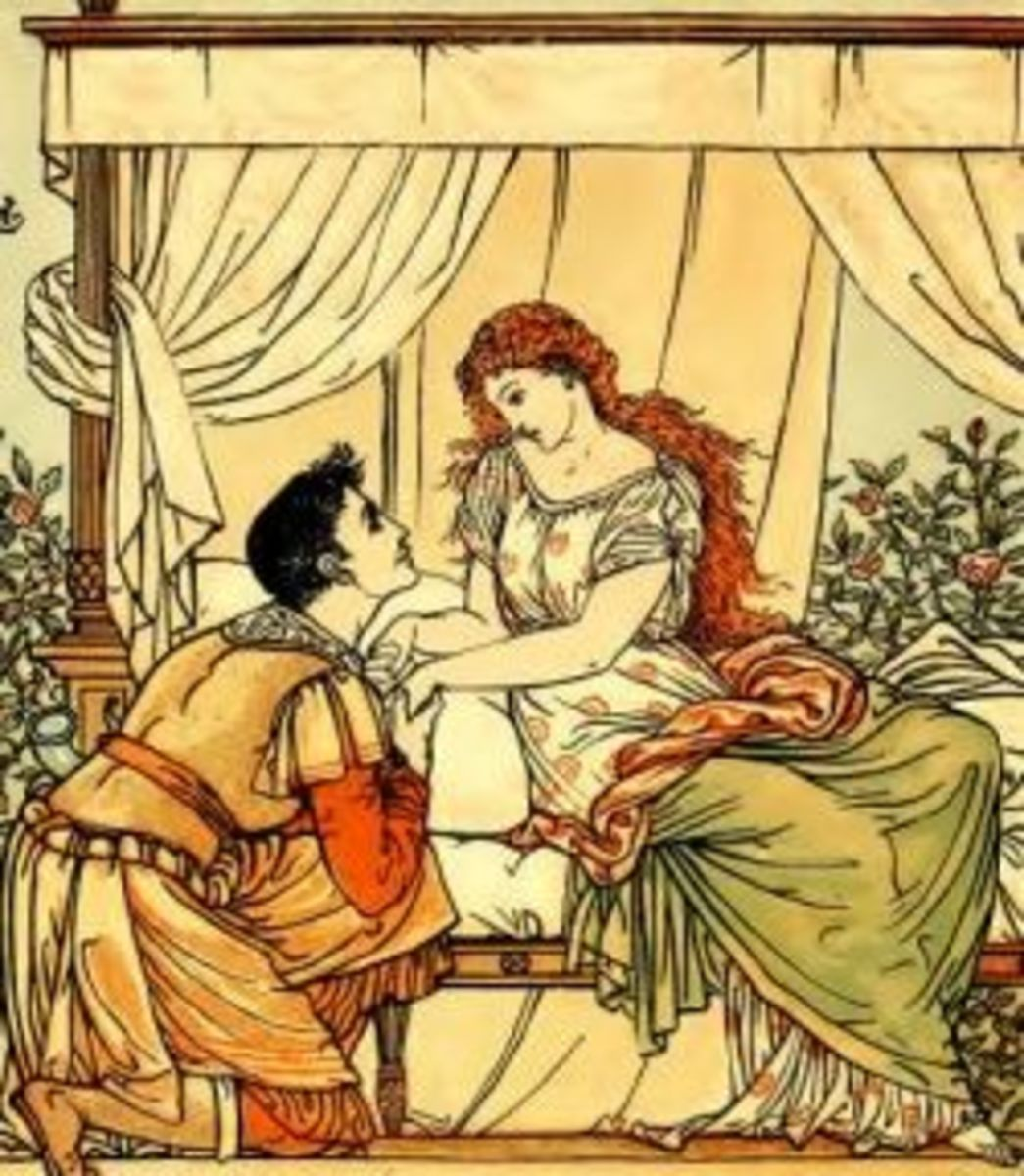 They fell in love (by Walter Crane)