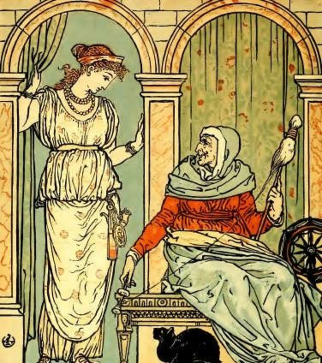 Spindle (by Walter Crane)