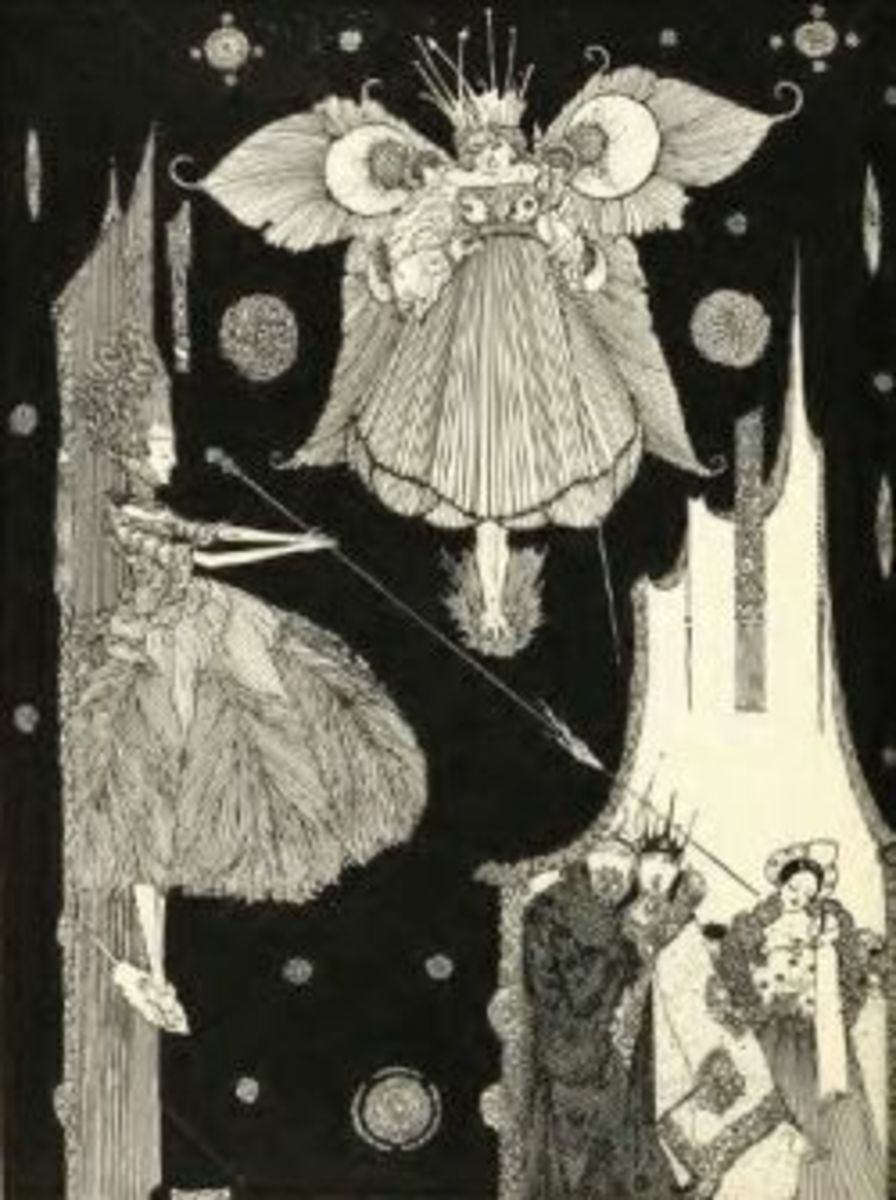 Fairies by Harry Clarke