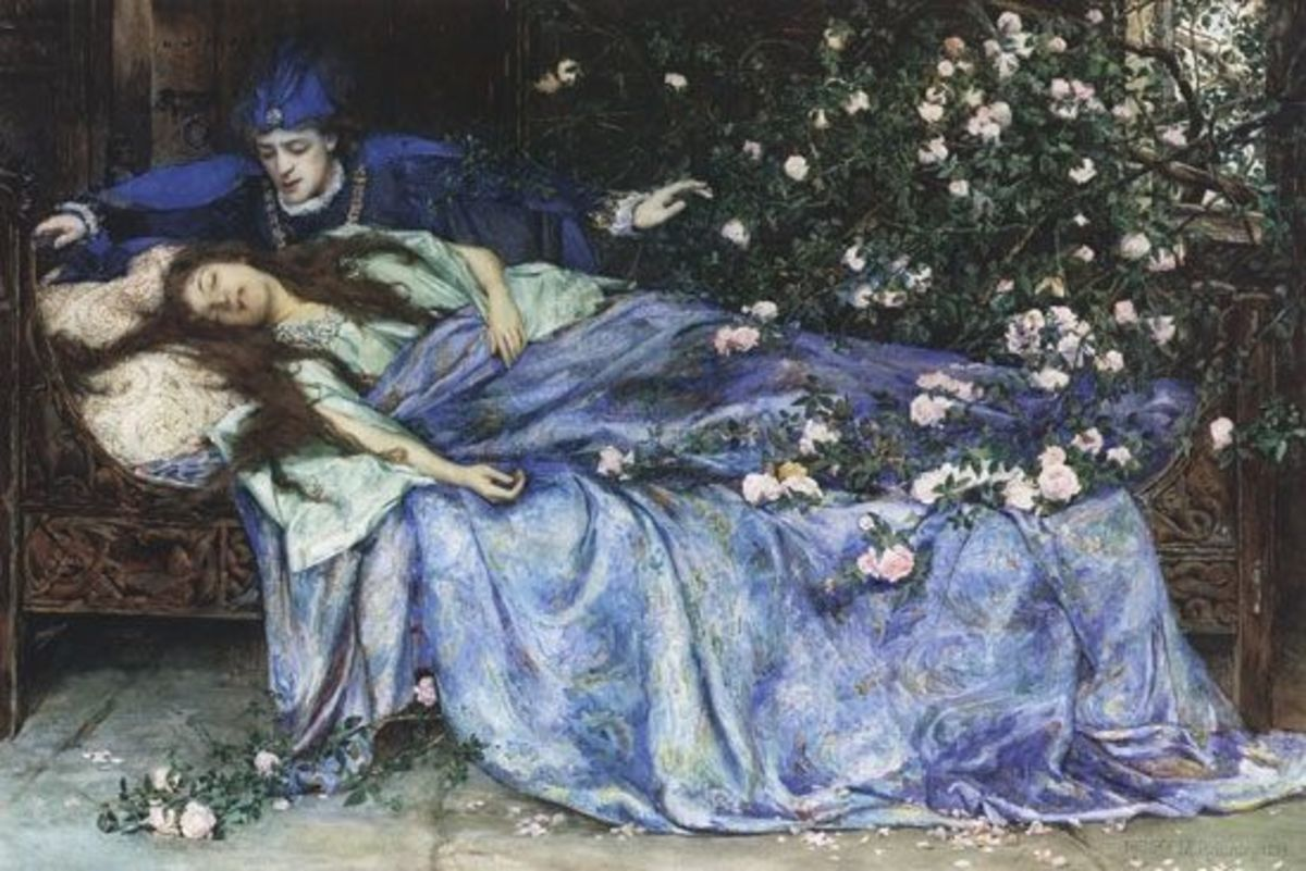 The kiss (by Henry Meynell Rheam)