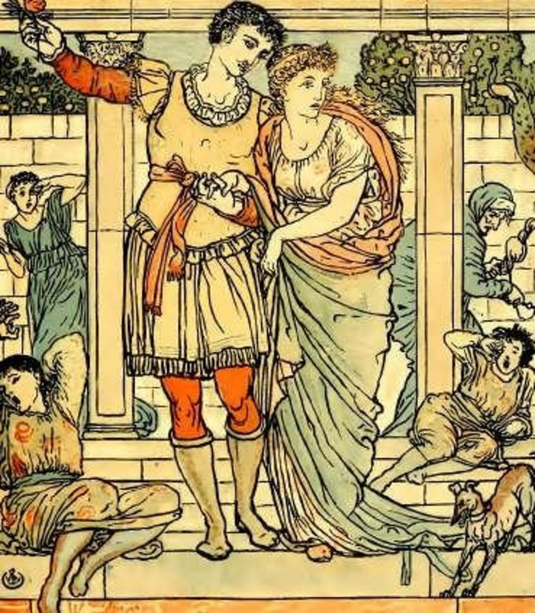 At least they all have happy ending! (by Walter Crane)