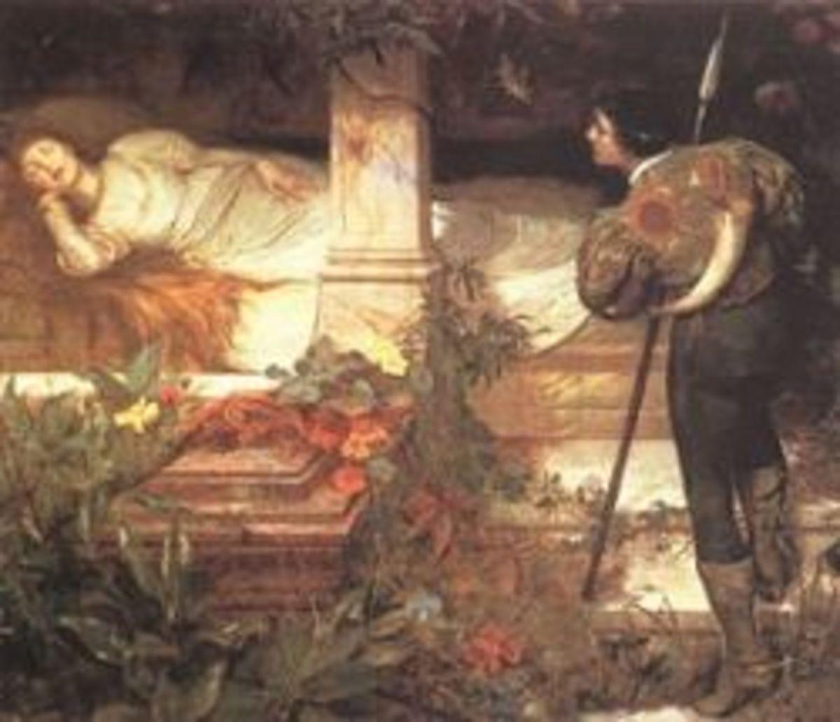 He found the princess (by Edward Frederick Brewtnall)
