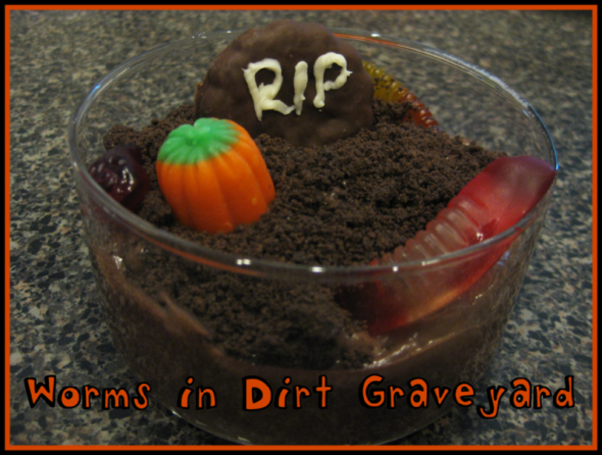 Worms in Dirt Graveyard
