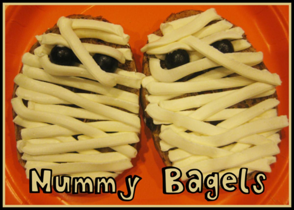 Mummy Bagels