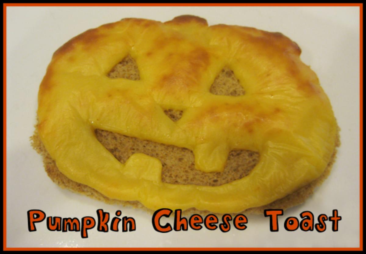 pumpkin cheese toast