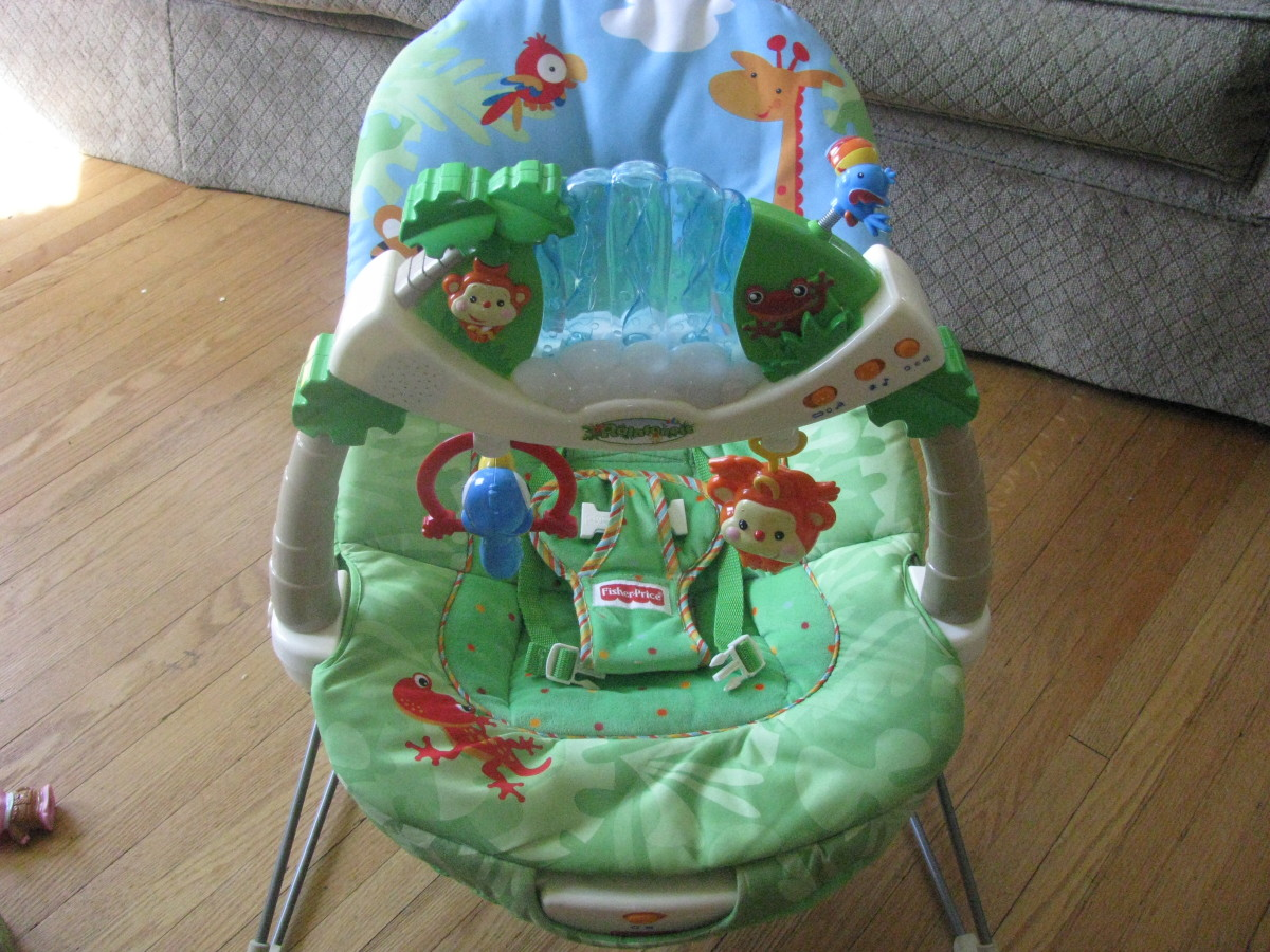 Fisher Price Rainforest Bouncer Review —  Best Baby Bouncer Chair by Fisher-Price