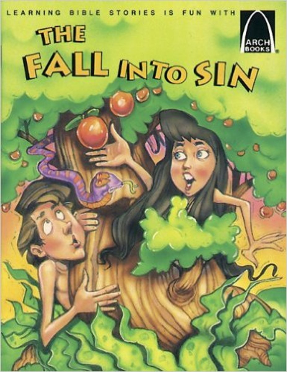 The Fall into Sin - Arch Books by Nancy Sanders
