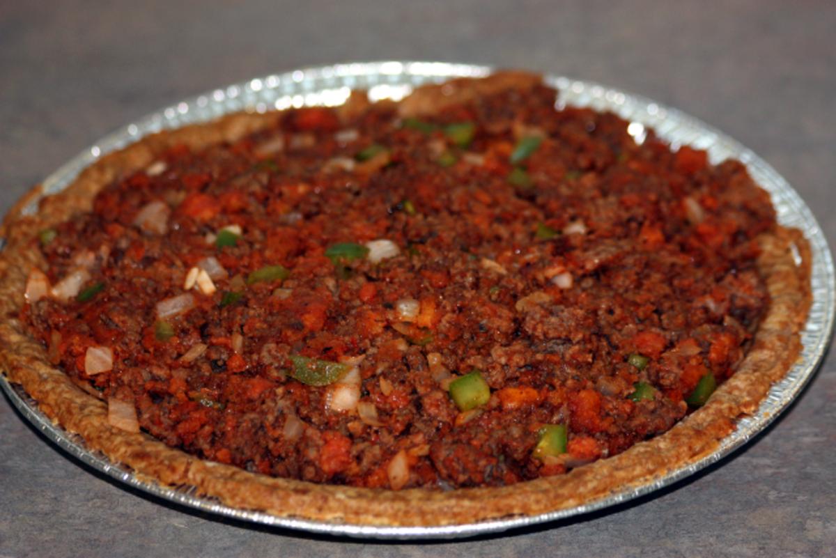 Place mixture in pie crust.