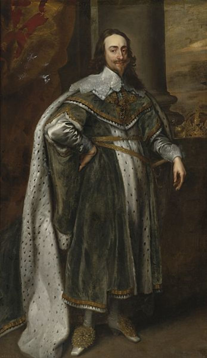 Charles I in 1636, during the Personal Rule