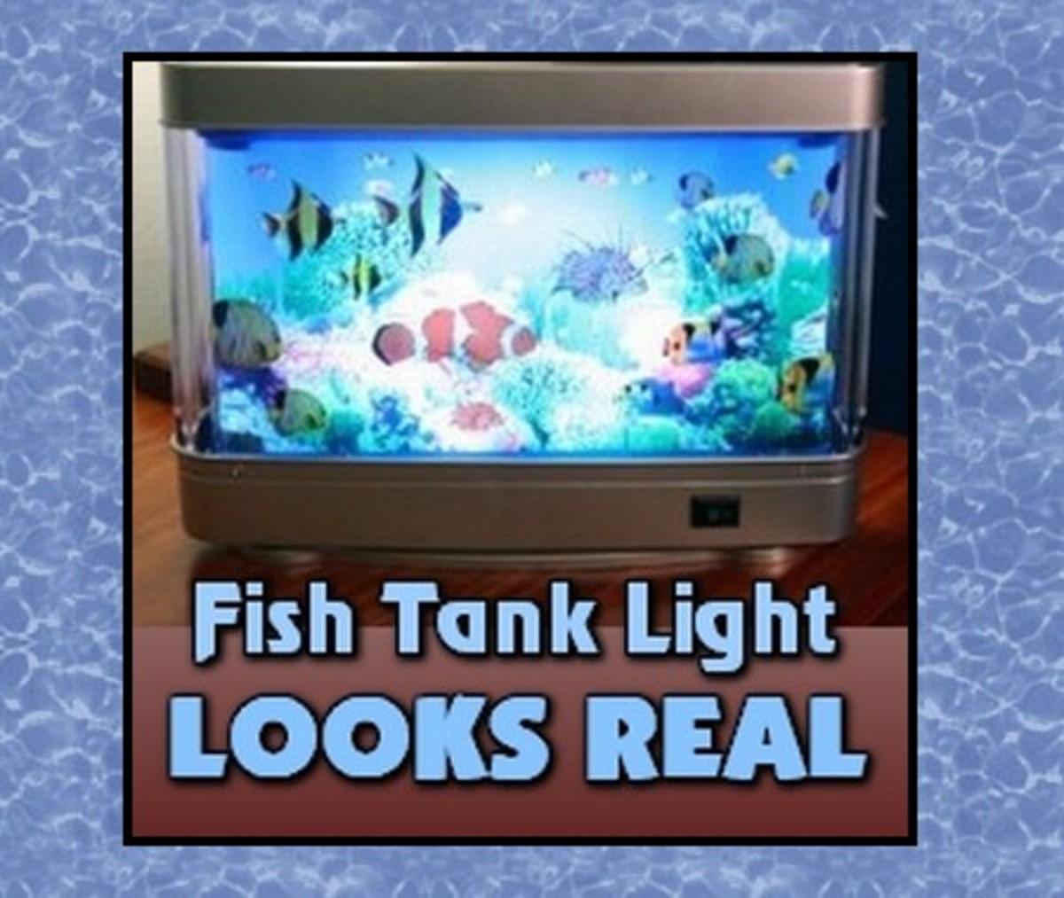 Fish Tank Light - Looks Like a Real Aquarium