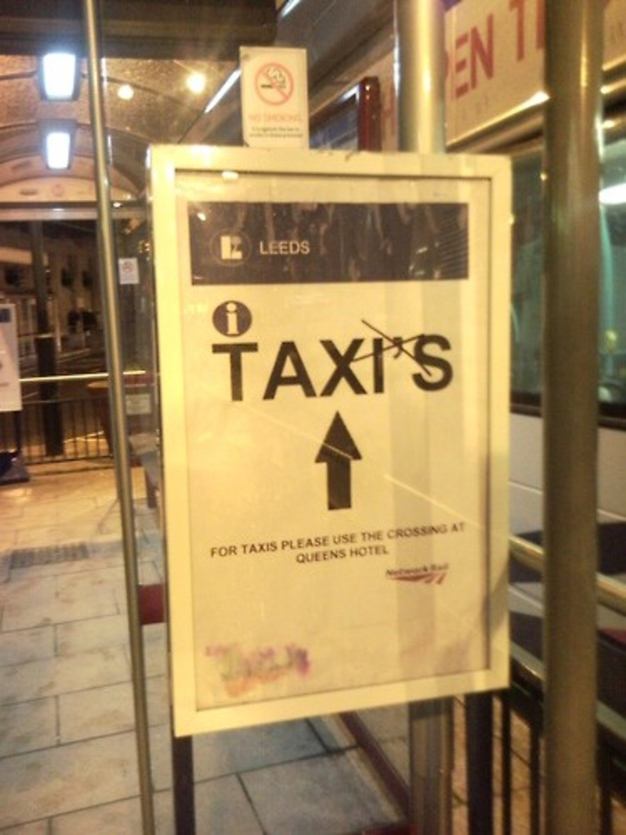Is this the plural of taxi? No, it's not!