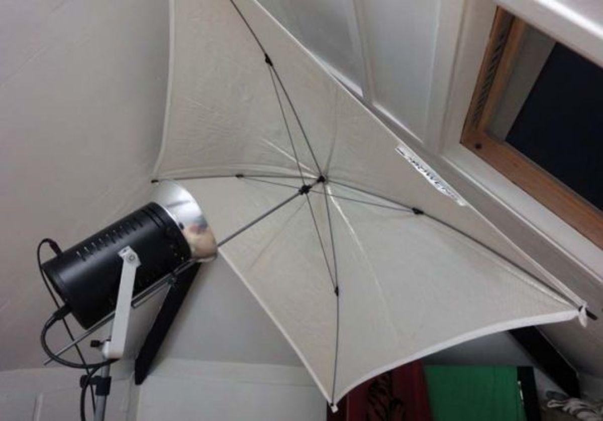 Bowen Light and Umbrella