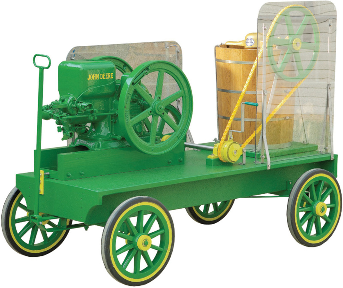 Hit & Miss Ice Cream Wagon in poly lumber
