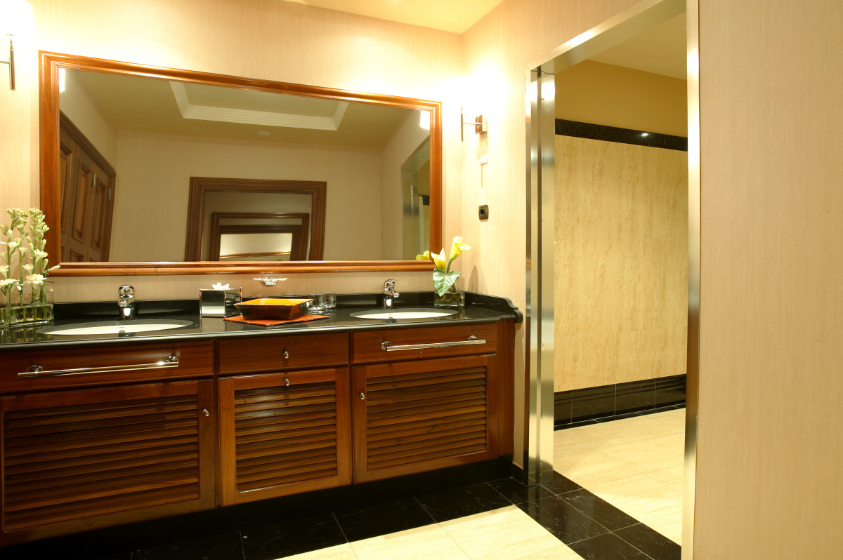 Do you have room for two bathroom sinks?