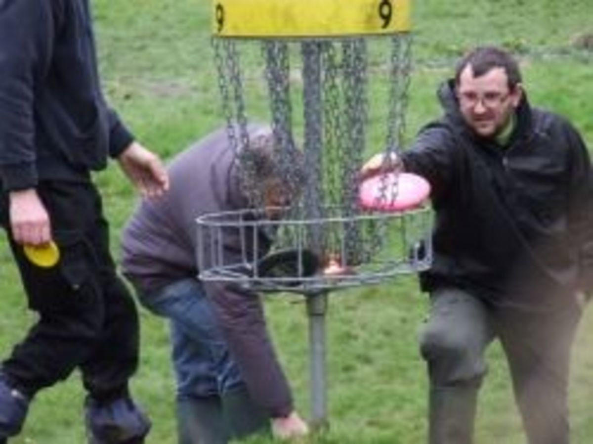 Disc Golf in the UK