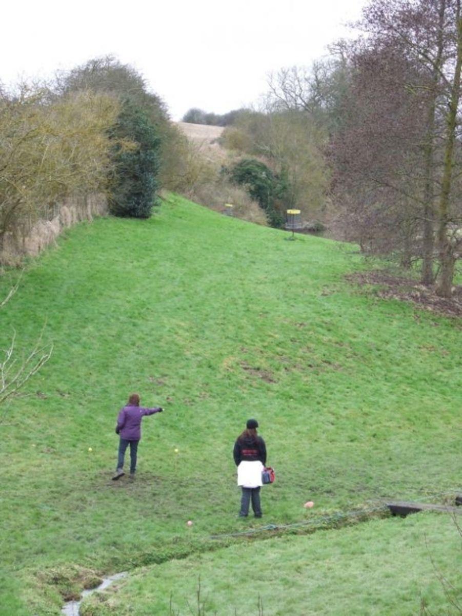 hole 6 Quarry Park.
