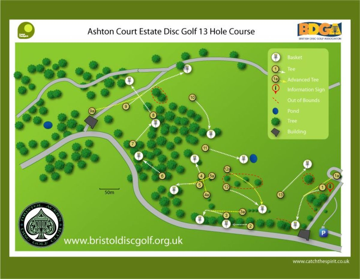 Bristol Ashton Court Map