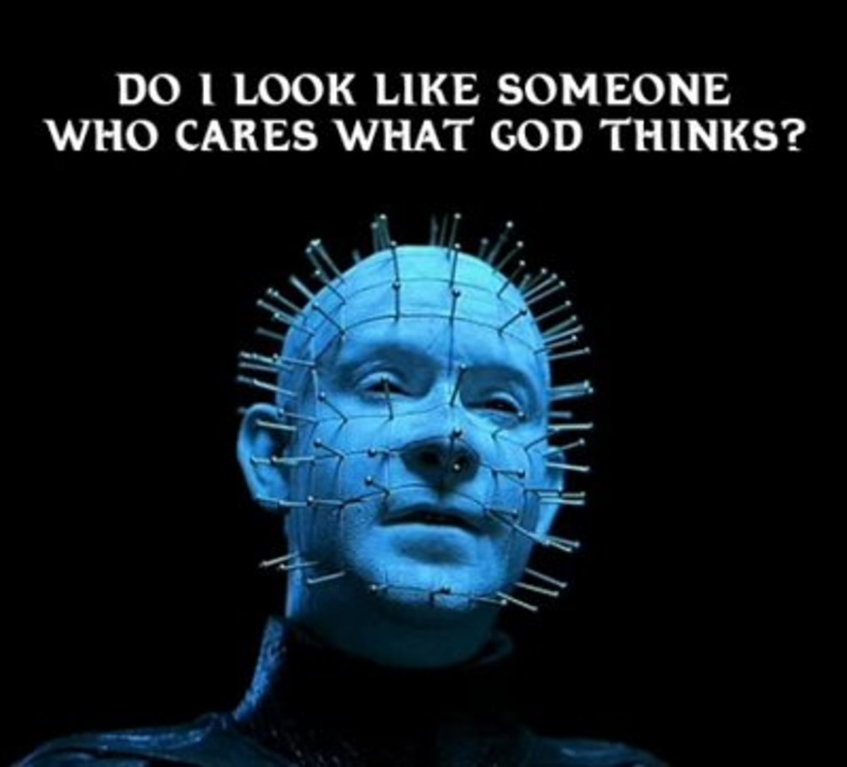 Doug Bradley portrayed the character of Hellraiser with such passion that the image remains one of the most memorable in the world of horror.
