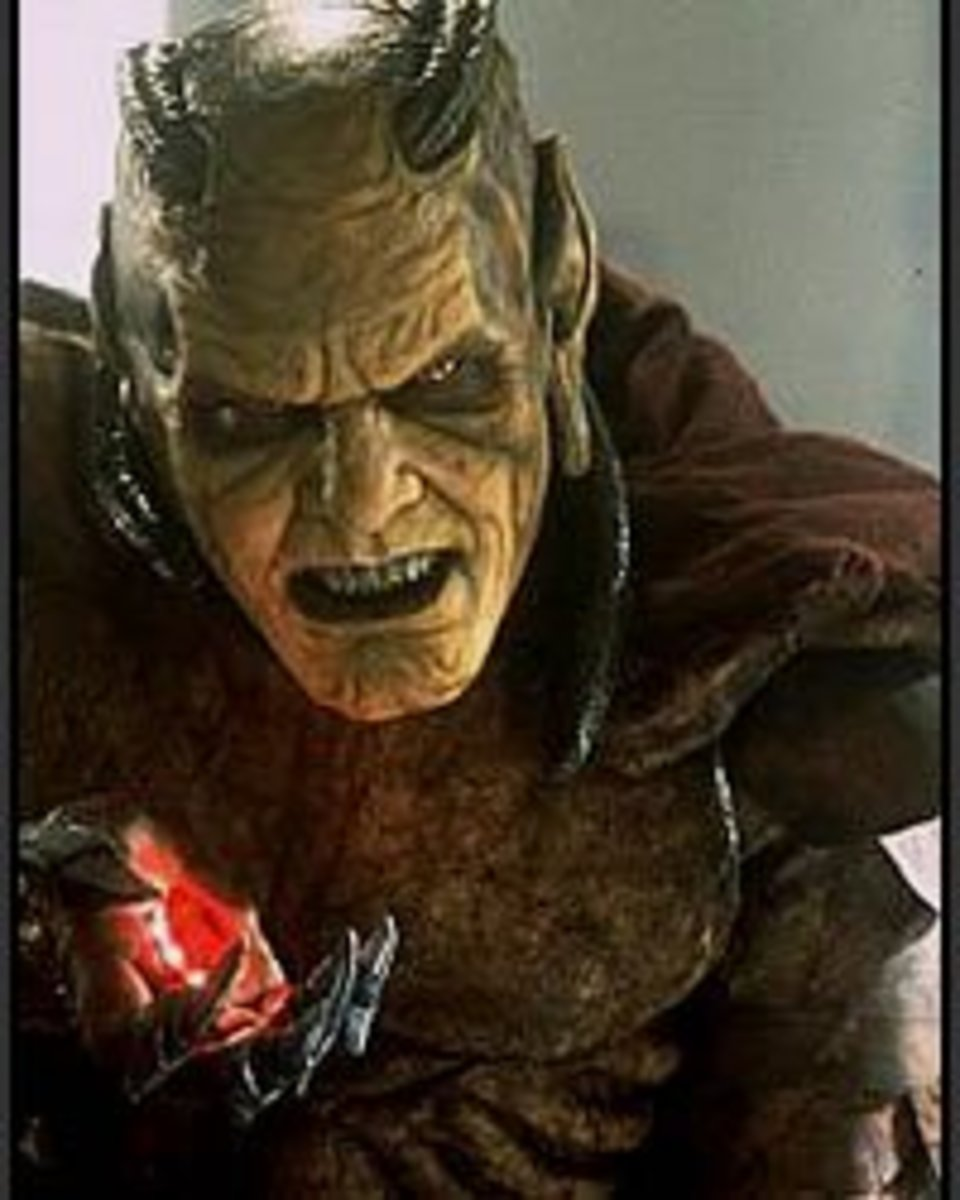 The Wishmaster is a true denizen of evil.