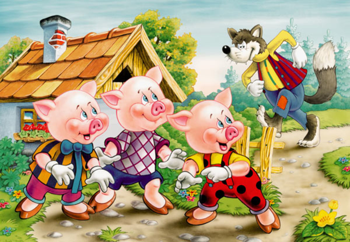 3 Moral Lessons to Learn From the Three Little Pigs?