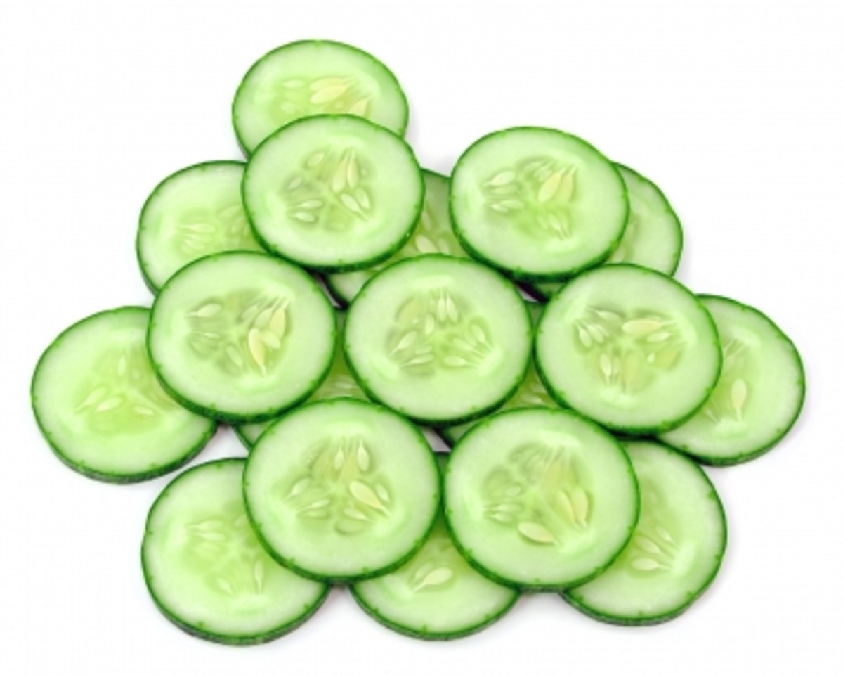 Cucumber makes a cool water drink so why not create your own recipe?