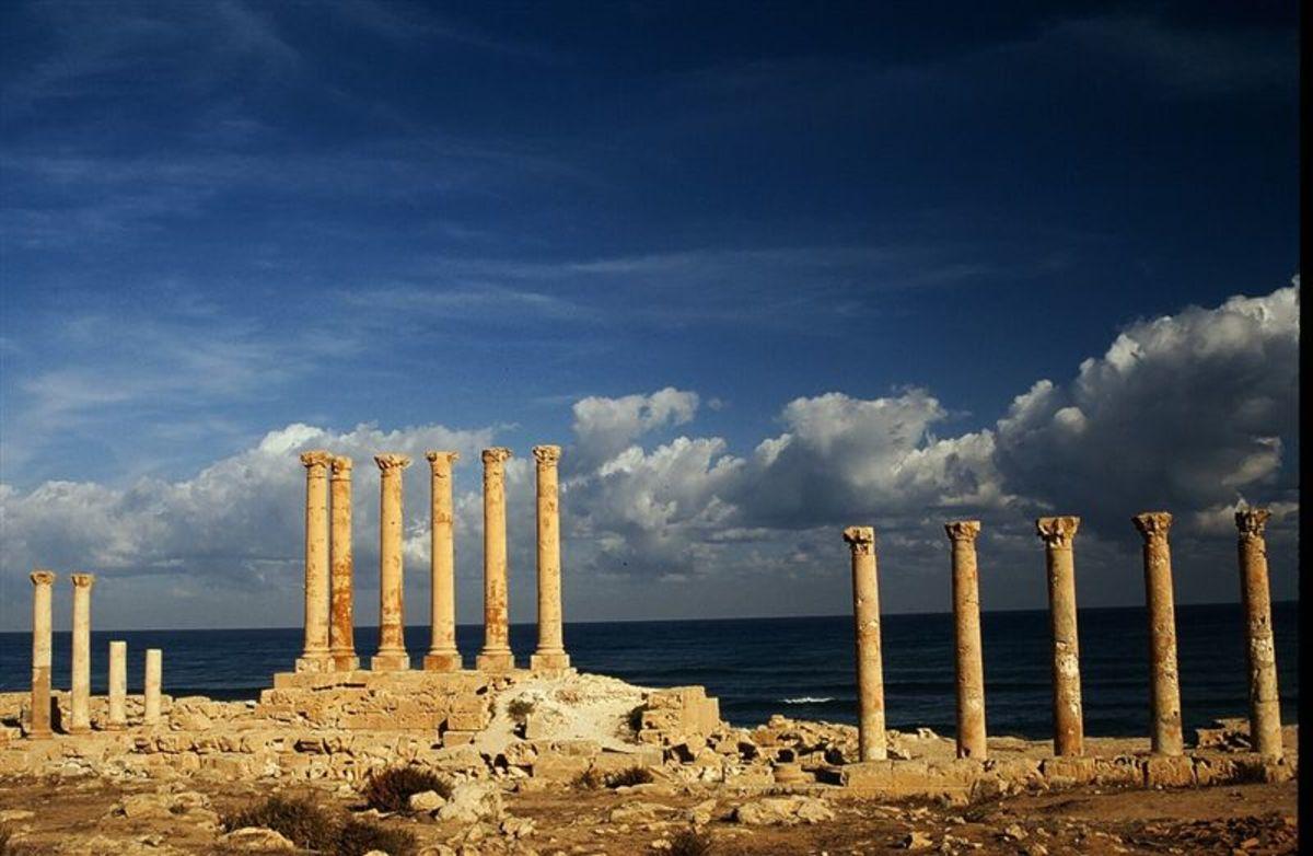 Sabratha on the Mediterranean