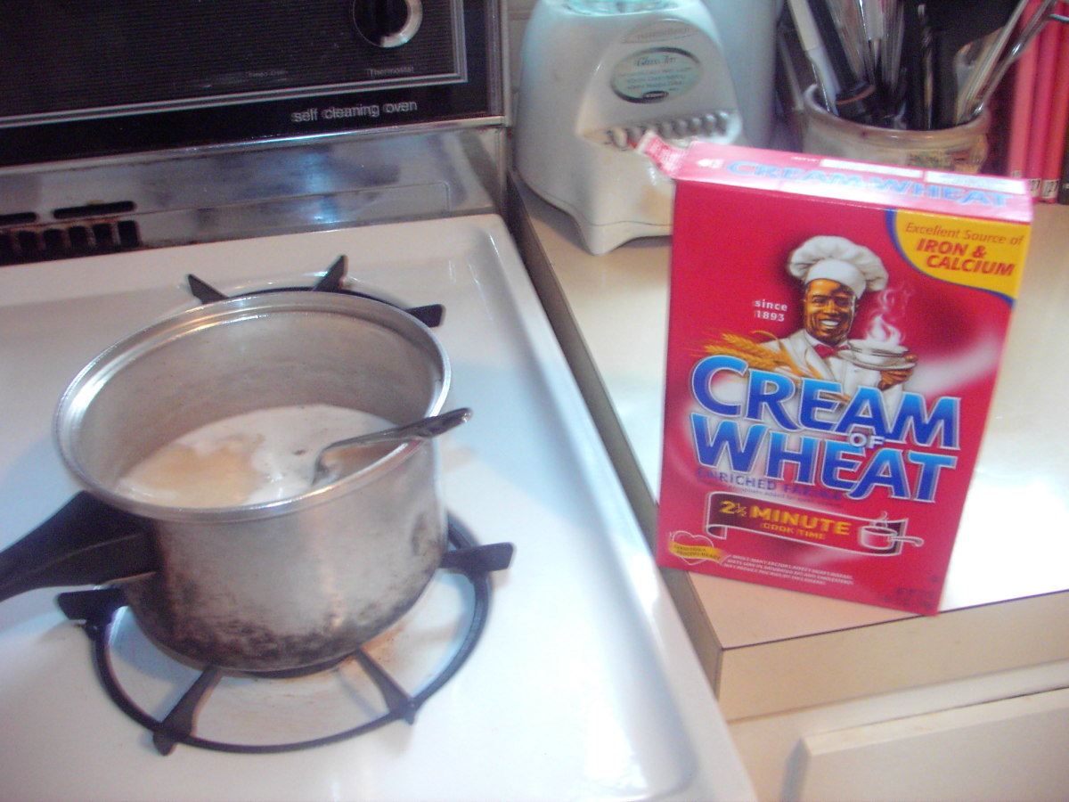 Who is the Guy on the Cream of Wheat Box?