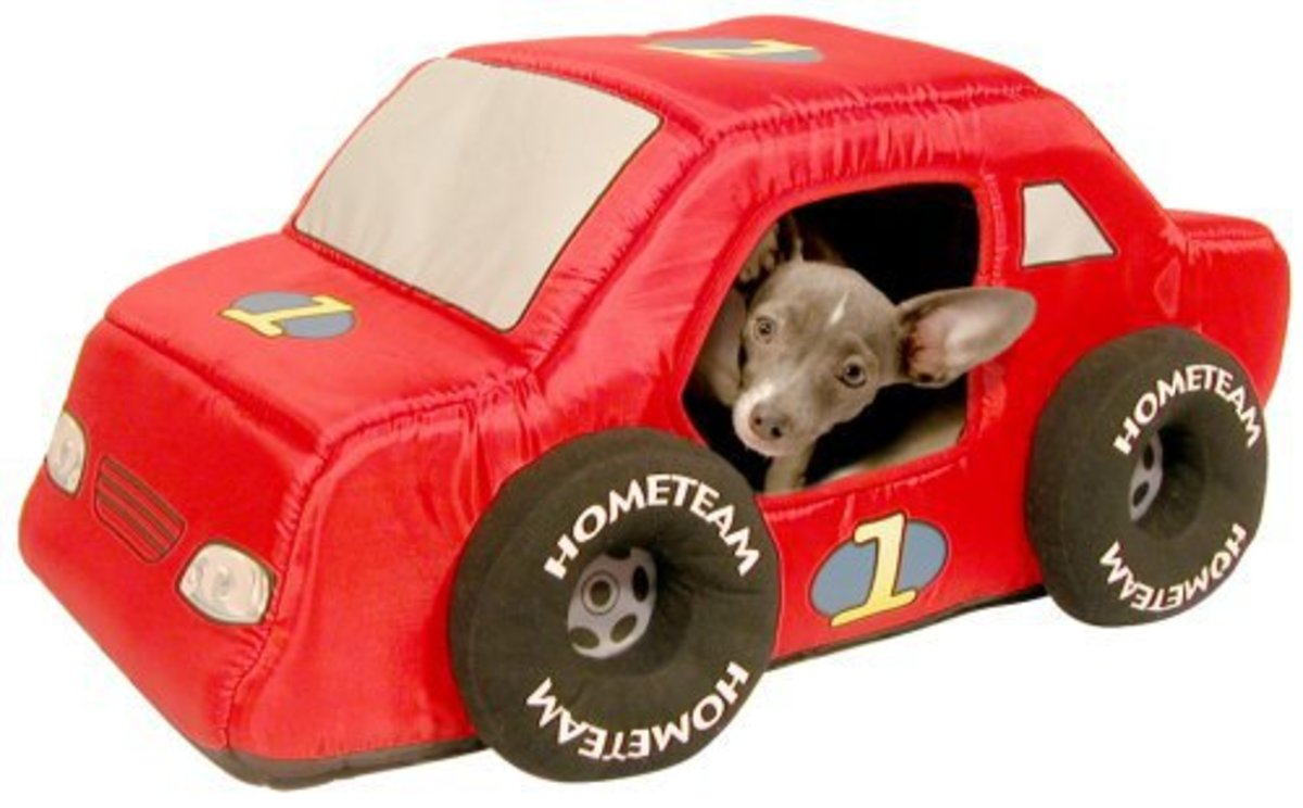 Dog Bed Shaped Like A Car