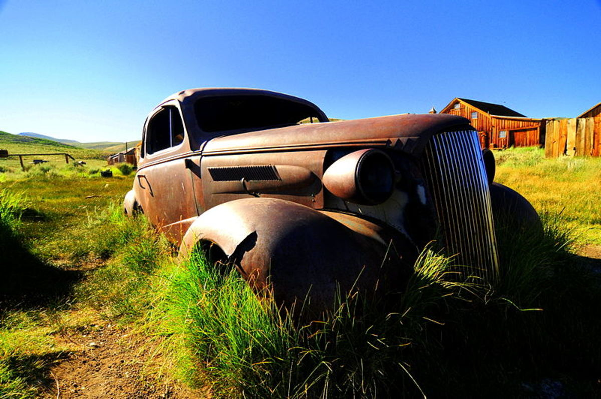 This 1937 Chevrolet coupe was photographed in Bodie on August 1, 2008 by Chris Willis.