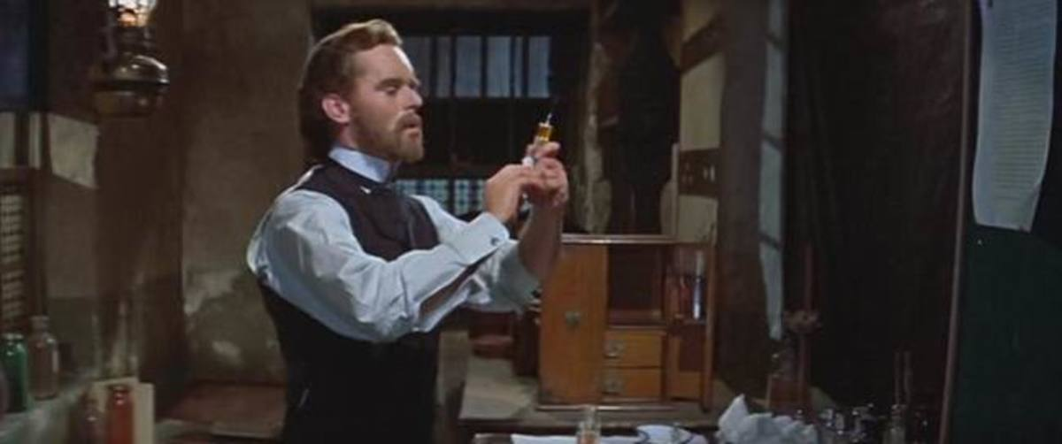 Paul Massie in The Two Faces of Dr. Jekyll (1960)