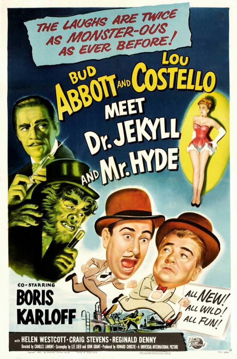 Abbott and Costello Meet Dr. Jekkyll and Mr. Hyde (1953) poster