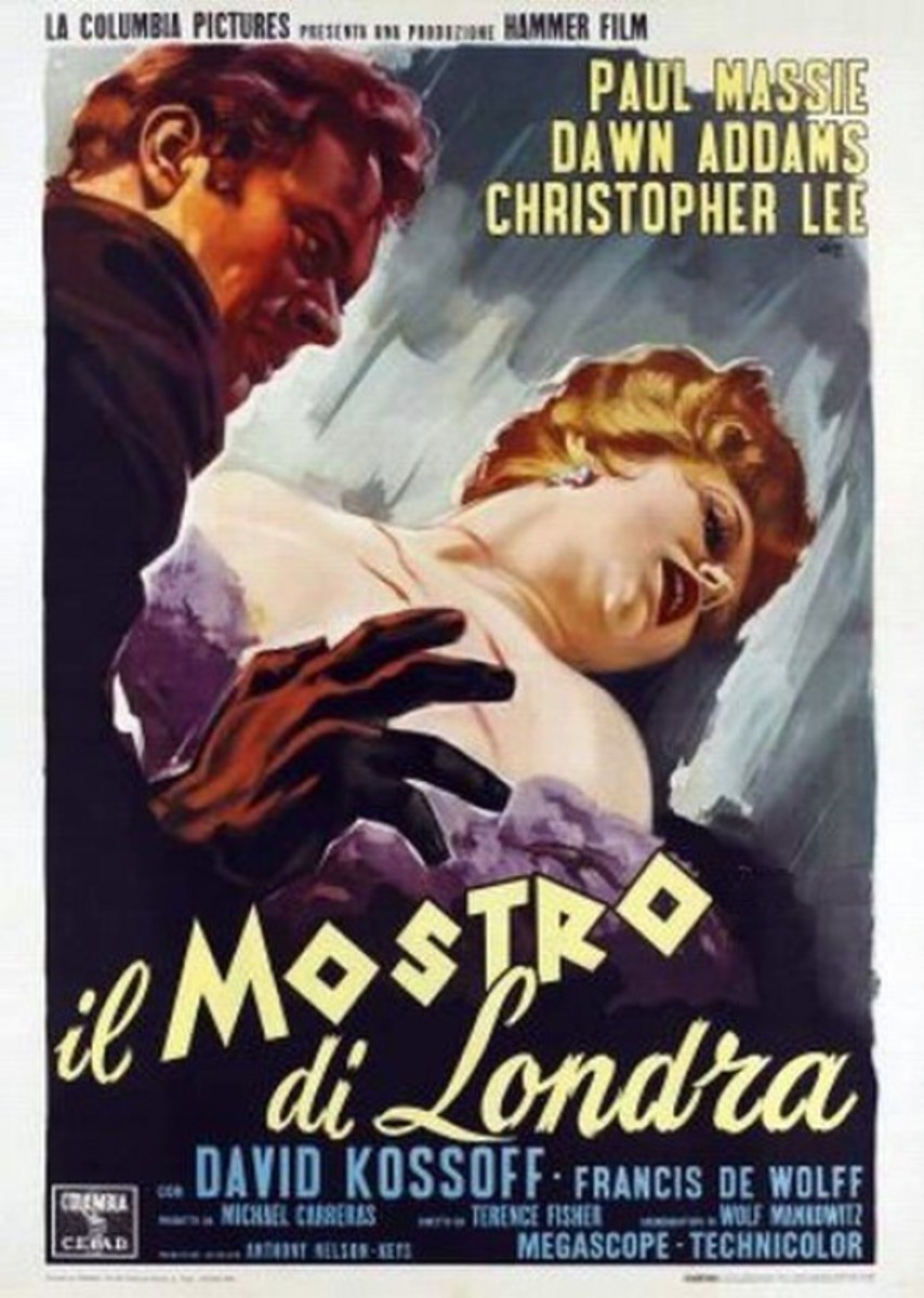The Two Faces of Dr. Jekyll (1960) Italian poster