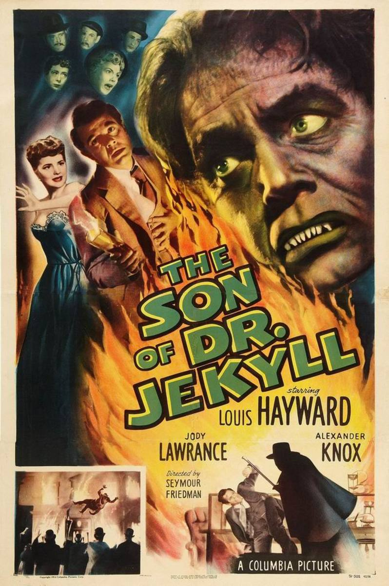 Son of Dr. Jekyll (1951) poster