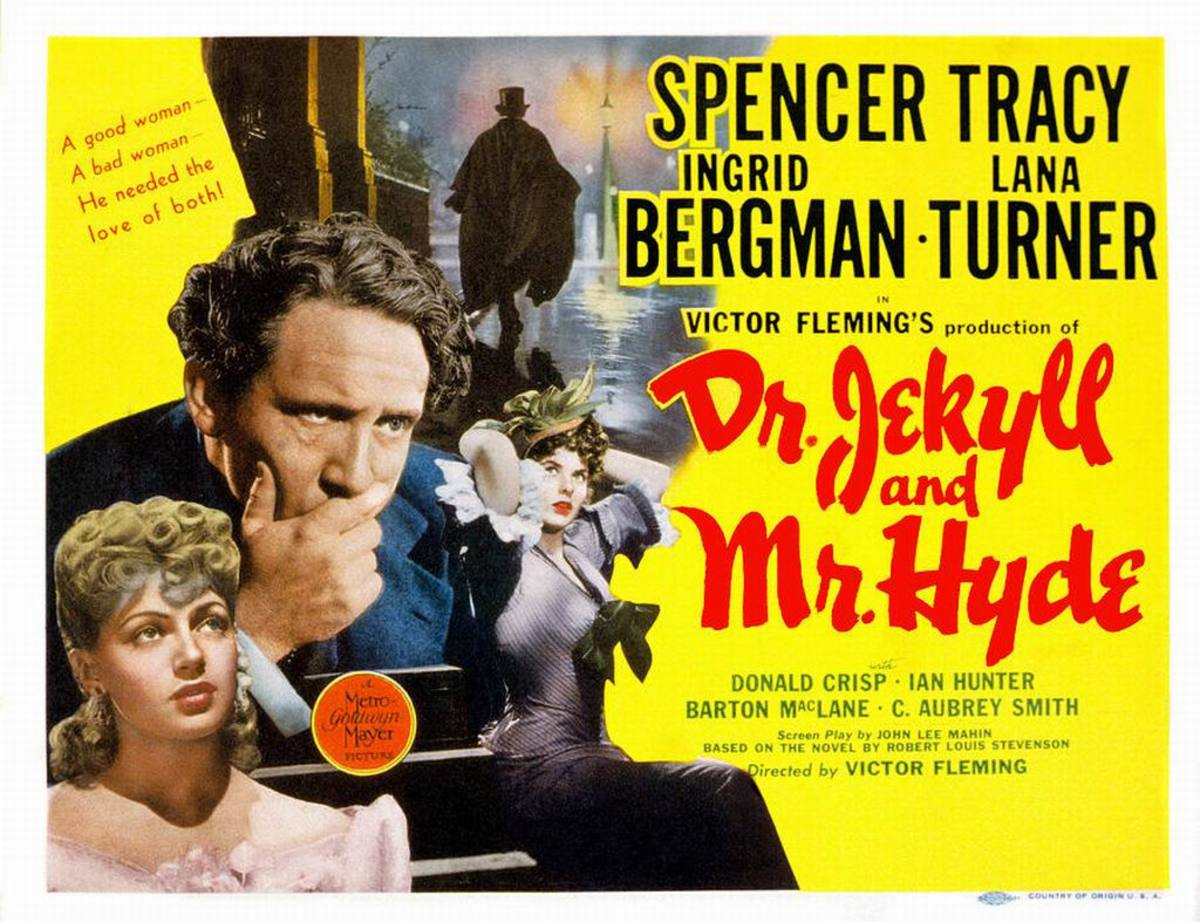 Dr. Jekyll and Mr. Hyde (1941) poster