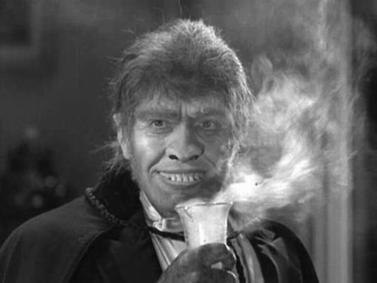 Fredric March as Mr. Hyde