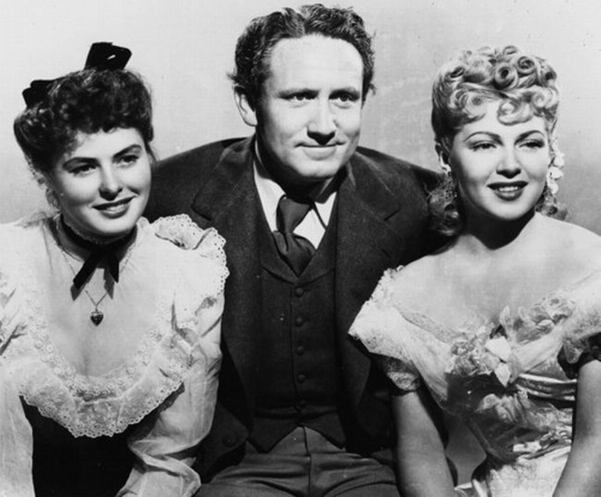 Ingrid Bergman, Spencer Tracy and Lana Turner in Dr. Jekyll and Mr. Hyde (1941)