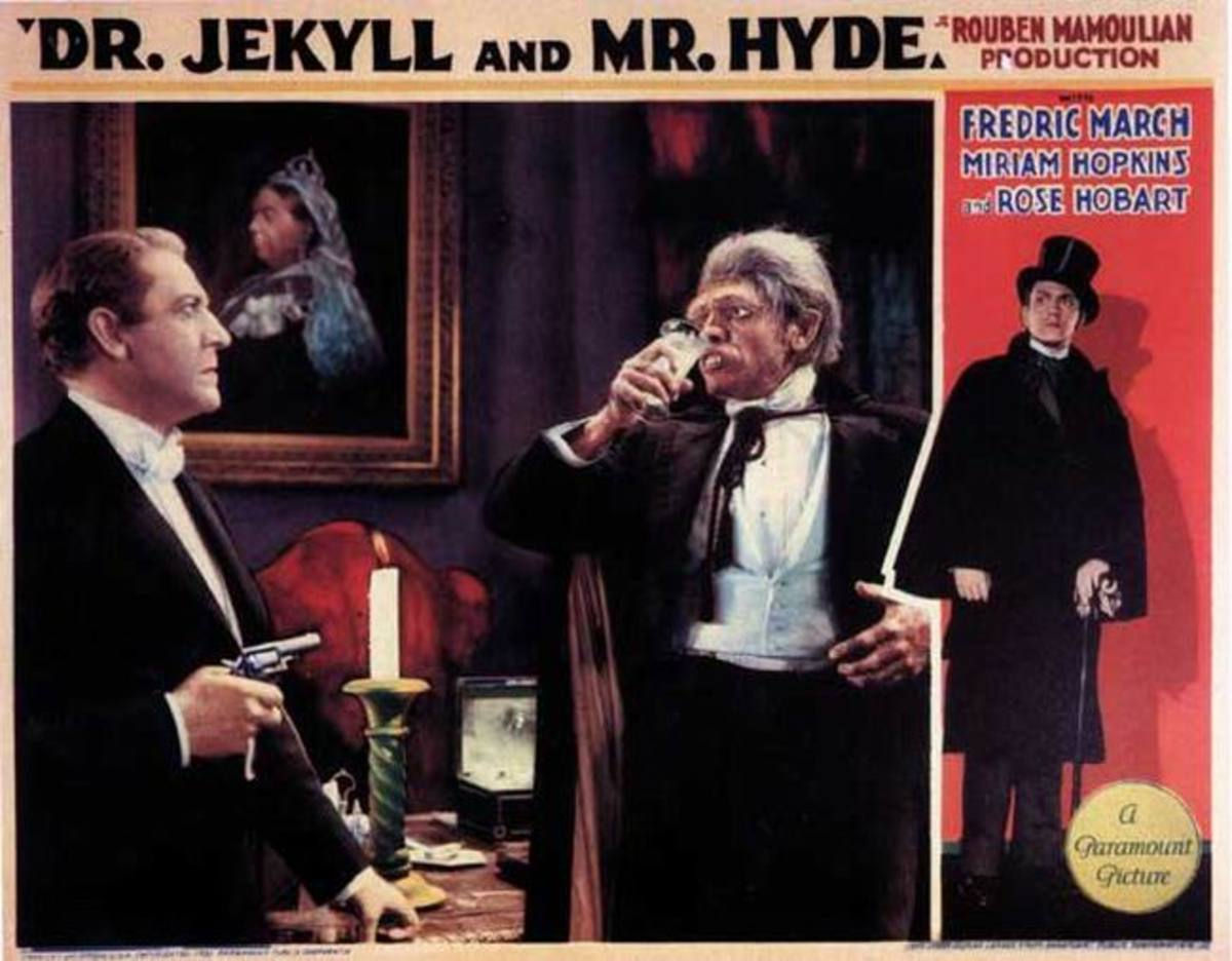 Dr. Jekyll and Mr. Hyde (1932) Lobby card
