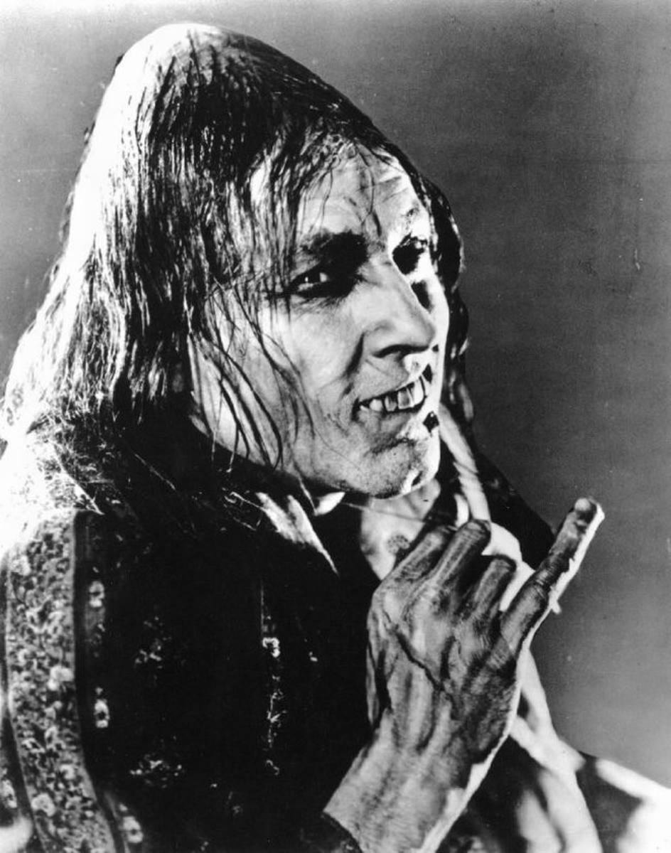 John Barrymore in Dr. Jekyll and Mr. Hyde (1920)