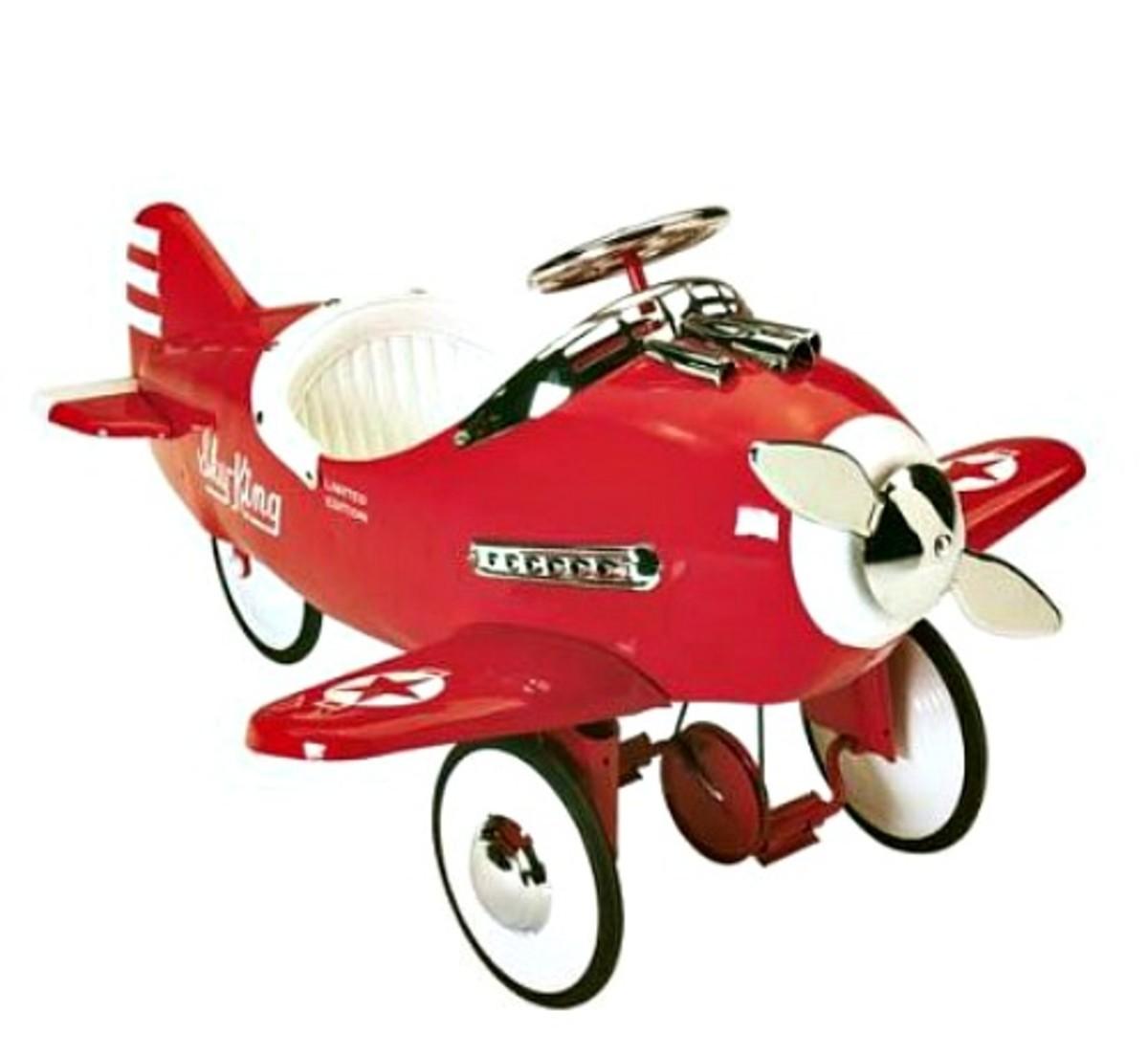 Airflow Sky King Pedal Plane
