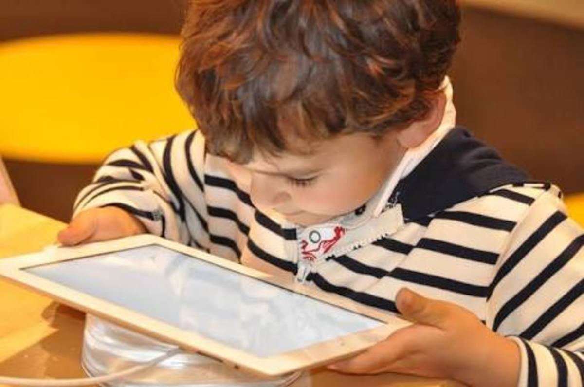 Over dependence of children on technology
