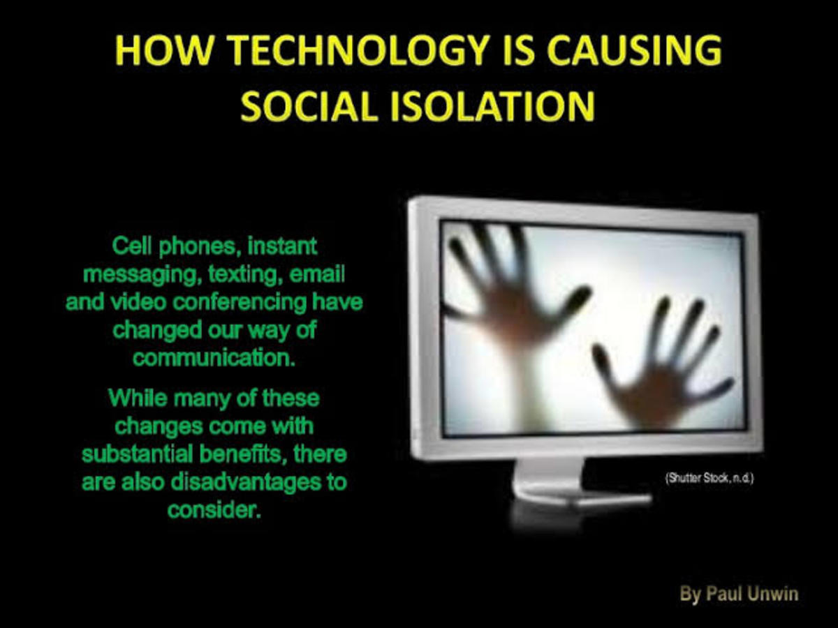 Too much dependence on technology, has given rise to depression and stress among young minds.