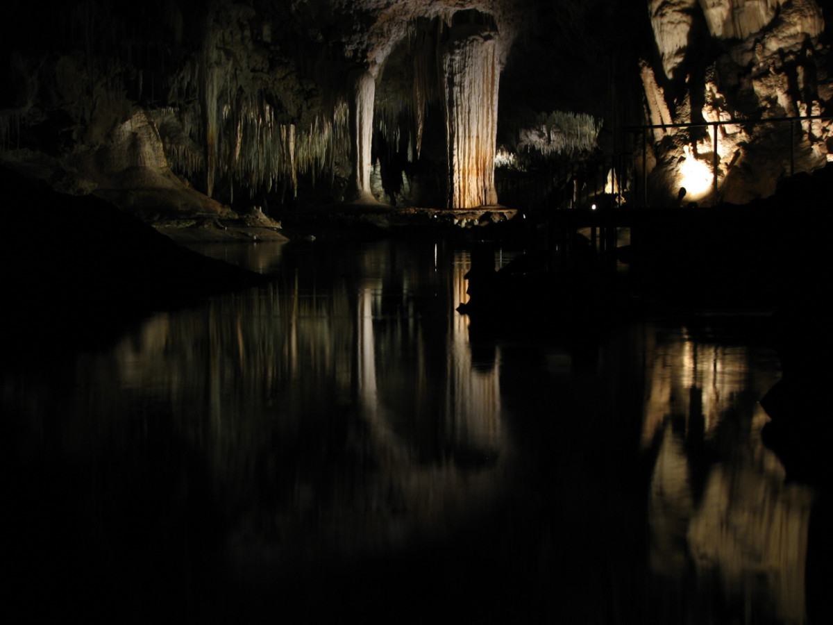 Lake Cave, near Margaret River, Western Australia.