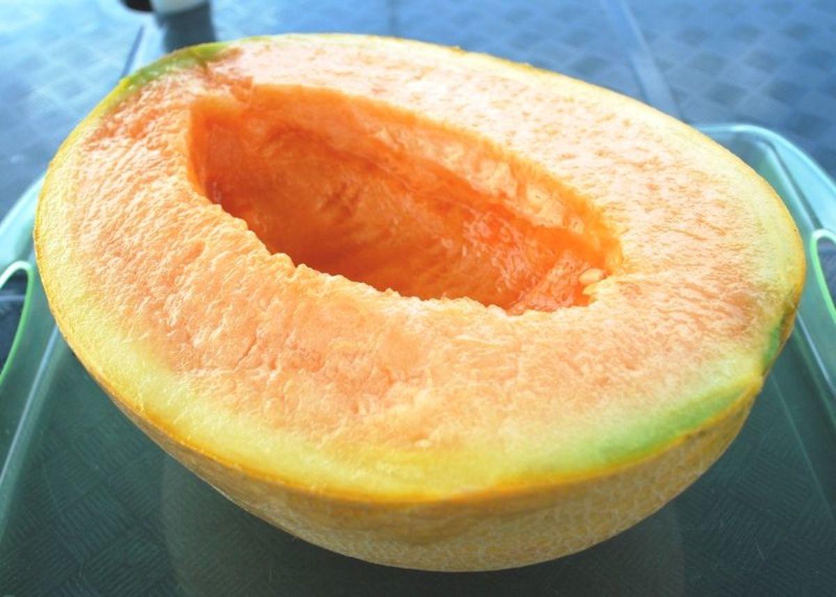 Yubari King Melon of Japan, used in Midori.