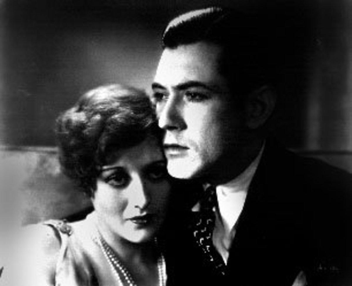 """Joan Crawford and John Mack Brown in """"Our Dancing Daughters"""""""