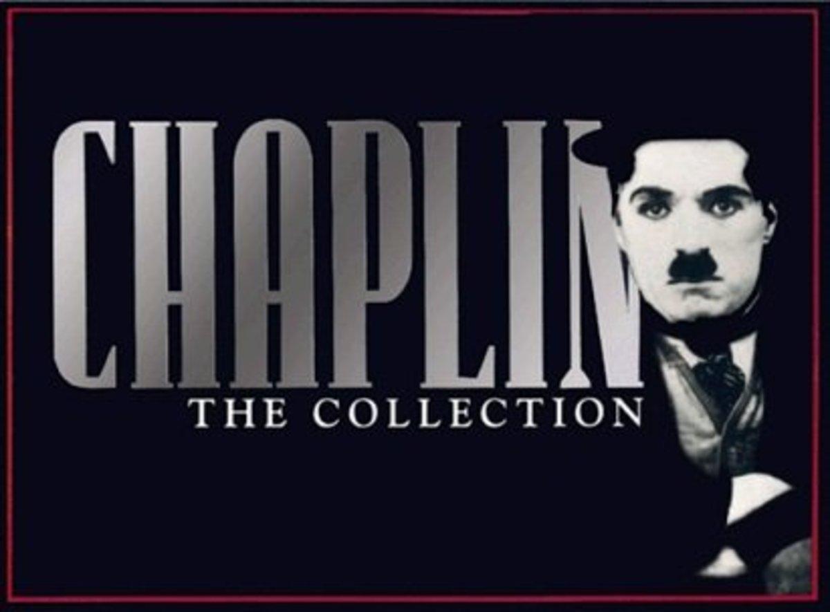 Charlie Chaplin boxed VHS set
