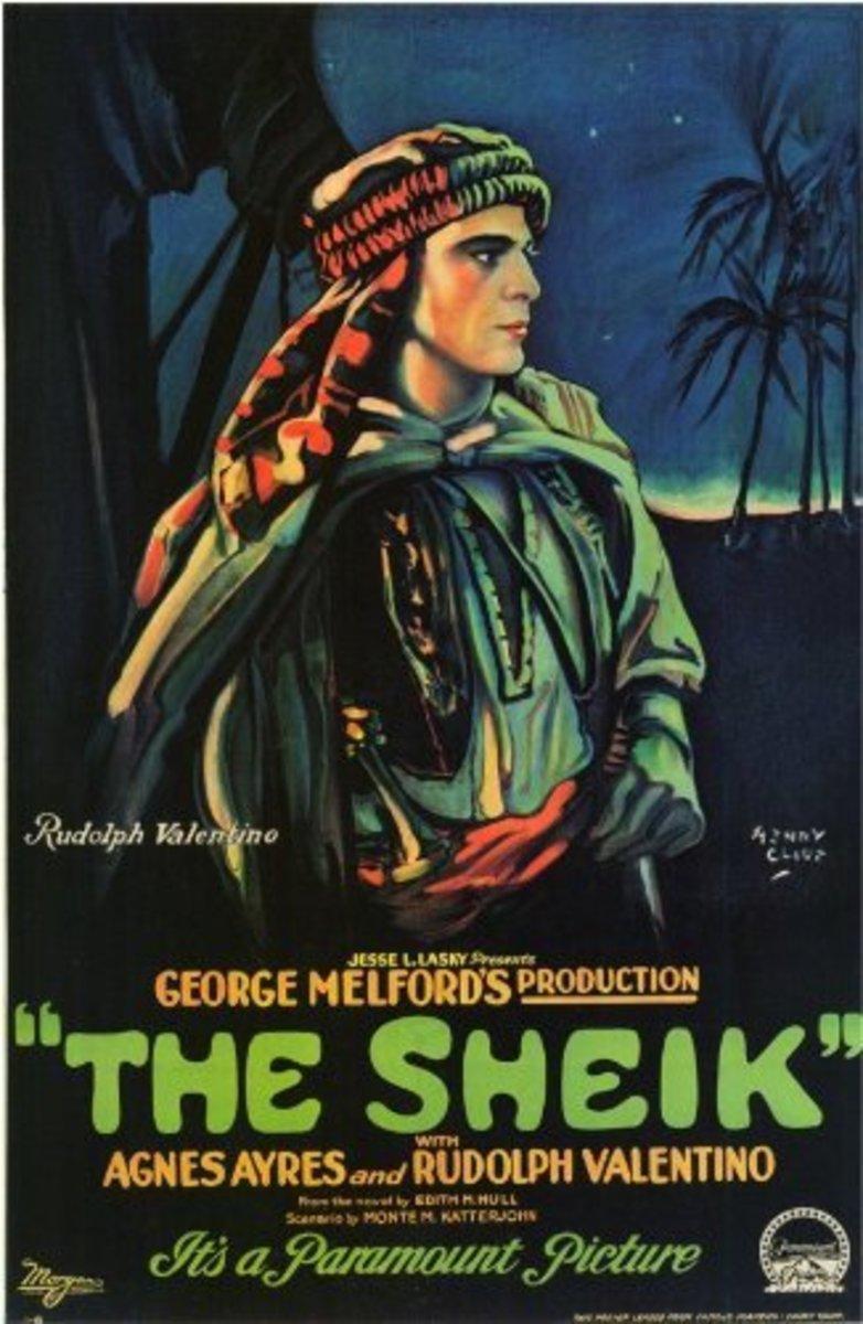 """The Sheik"" movie poster"