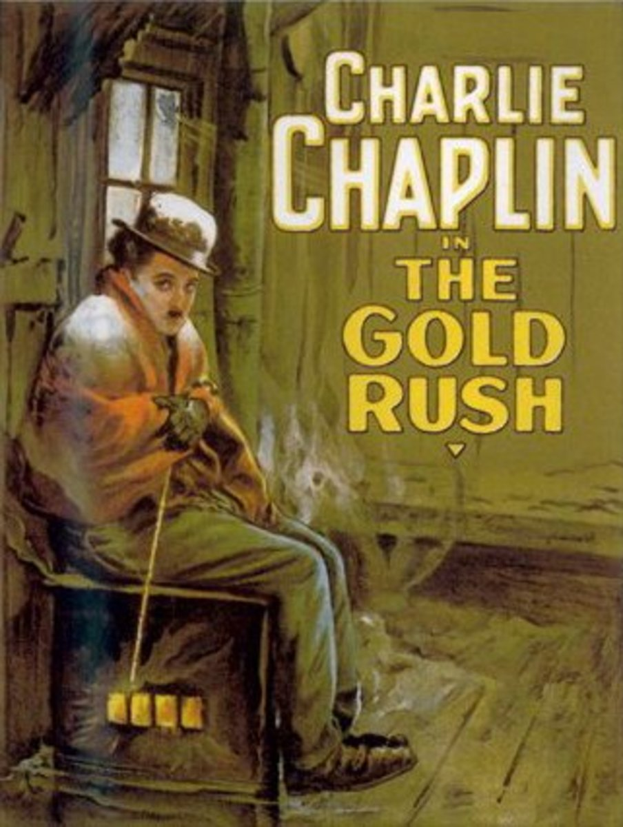 """The Gold Rush"" movie poster"
